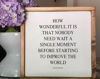 """How Wonderful It Is 