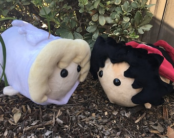 Crying Angel or Devil Plushies