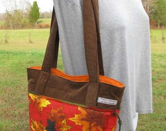 SALE - Autumn Handbag by Happy Campers of the South (HB015)