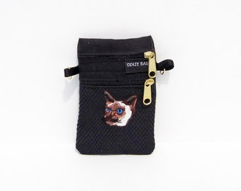 Siamese  Cat Small Cell Phone Case
