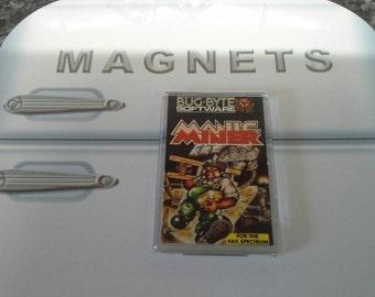 Manic Miner Fridge Magnet. Retro. ZX Spectrum Computer Game