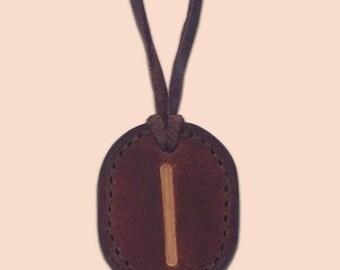 Rune Amulet Necklace - Isa - Viking Isa Rune Necklace - Rune Pendant - Asatru Jewelry