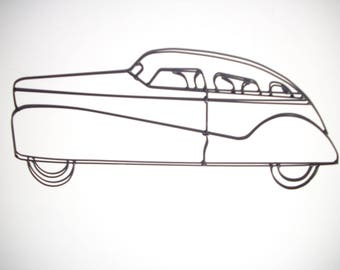 Wireart Mystery Car