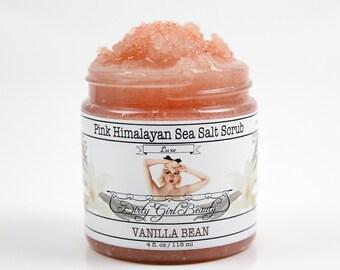 Luxe Pink Himalayan Sea Salt Scrub - 4 fl. oz. Jar - Vegan