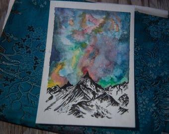 Watercolor Postcard 1
