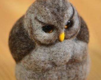 Toy Serious owl