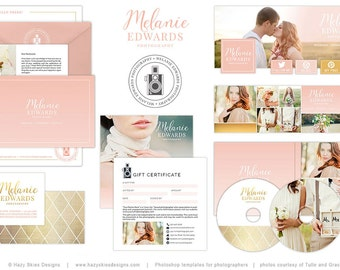 Wedding Photography Marketing, Wedding Photography Logo, Wedding Photography Template, Wedding Photography Set, Marketing Kit - MK146A