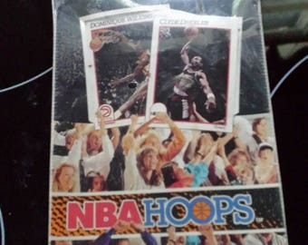 1991-92 Hoops NBA Series 1 Basketball Unopened Box. Has Original Plastic. 36 Packs/15 Cards Per Pack