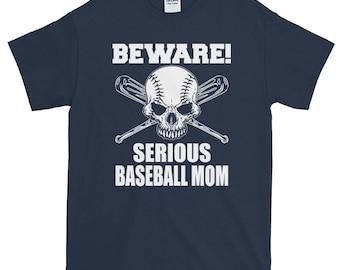 Short-Sleeve T-Shirt_baseball mom_baseball_sports mom_sports