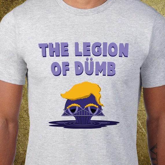 legion of dumb tshirt creative tshirt snarky tees ironic