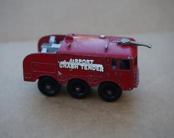 Vintage Lesney Matchbox Foamite Airport Crash Tender Series No 63