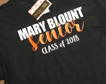 Mary Blount Senior Sweatshirt or Hoodie