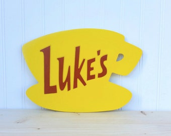 Gilmore Girls Luke's Diner Sign