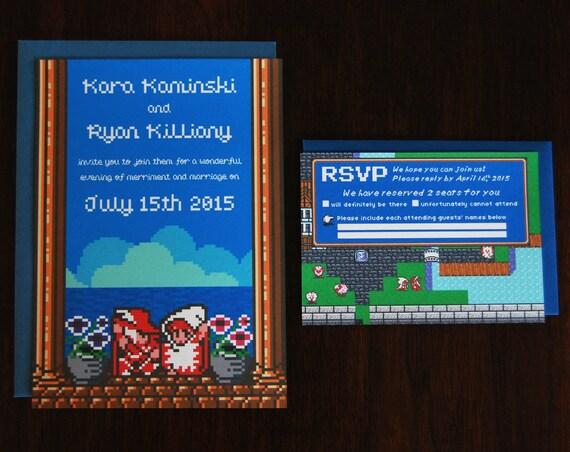 Final Fantasy Wedding Invitation Set 25 units