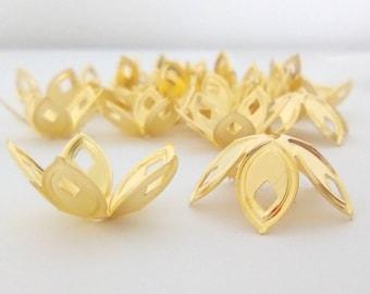 Golden Flower metal 18x8m 10 cups