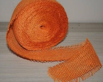 Burlap Ribbon, width 50 mm