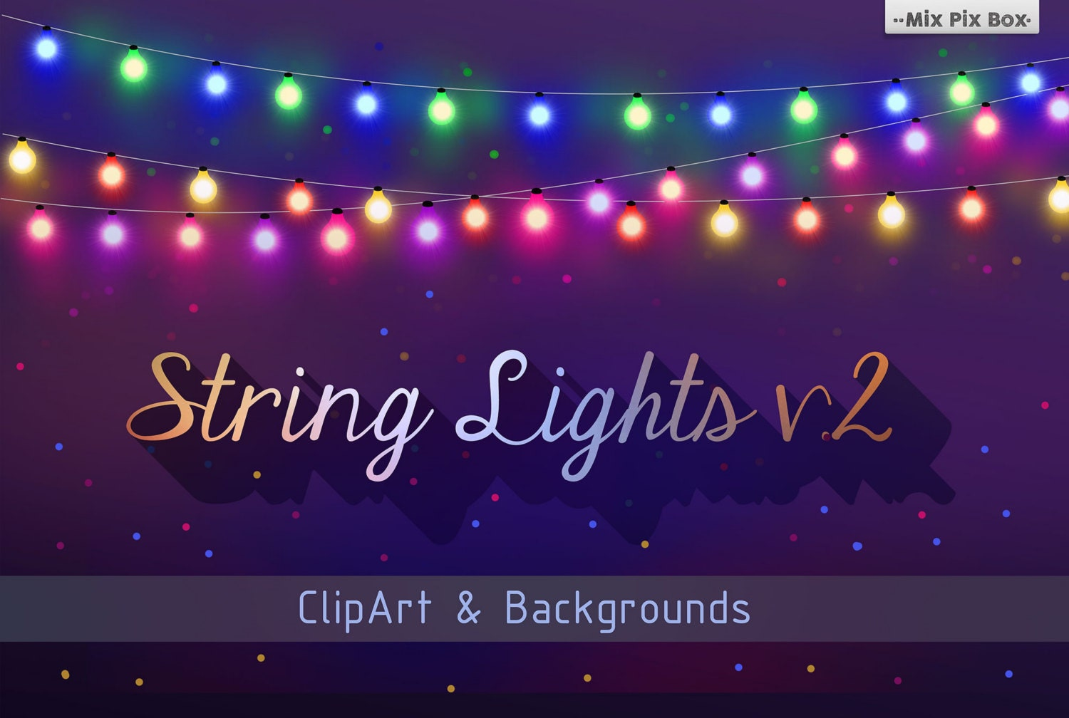 String Lights Clipart Party Light