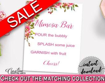 Mimosa Bar Sign Bridal Shower Mimosa Bar Sign Spring Flowers Bridal Shower Mimosa Bar Sign Bridal Shower Spring Flowers Mimosa Bar UY5IG
