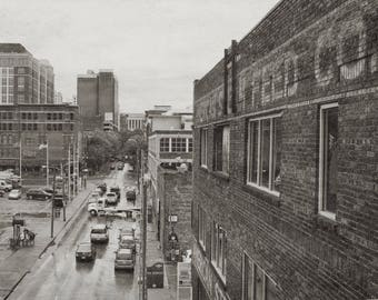 Nashville, TN in Sepia