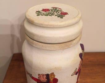 Upcycled Coffee Jar