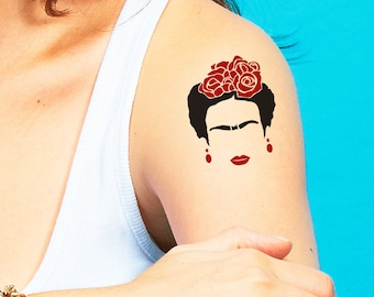 Temporary Tattoo - Frida Kahlo Cejas - Set of Two