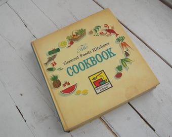 1950s Vintage Cookbook The General Foods Kitchens 1959 First Printing
