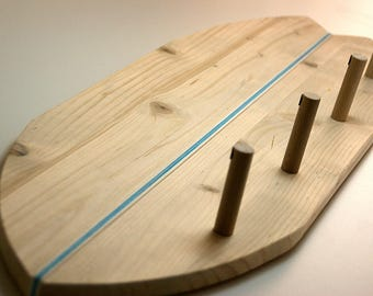 SURFBOARD CLOTHES HANGER