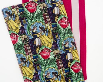 Beauty and the Beast Seat Belt Cozy/Cover