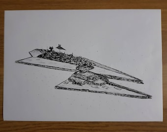 Super Star Destroyer LIMITED Print