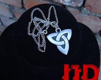 Celtic Knot Necklace - Triquerta Necklace - Charmed Necklace - Celtic Necklace - Celtic Medallion - Celtic Pendant - Pagan Jewelry