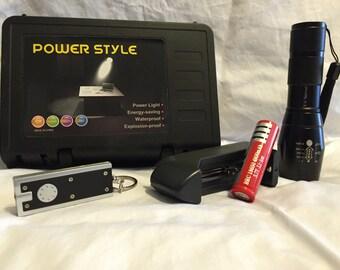 Ultra Bright K-11 Tactical Flashlight 1600 Lumens
