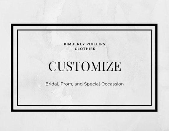 Customize and Upgrade and Original Design