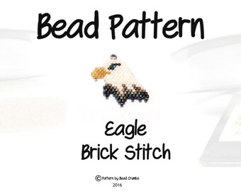 Seed Bead Pattern Brick Stitch Pattern Earrings Delica Beads
