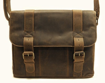 Smith Satchel Vintage Brown by Uscha