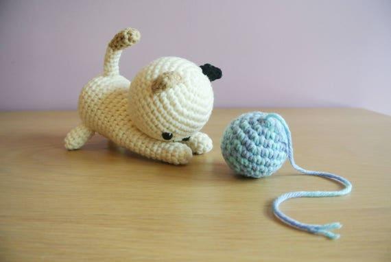 Amigurumi Cat Doll : Crochet cat amigurumi handmade crochet amigurumi cat toy