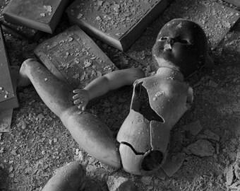 Abandoned Creepy Doll