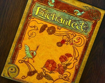 Enchanted inspired book cover