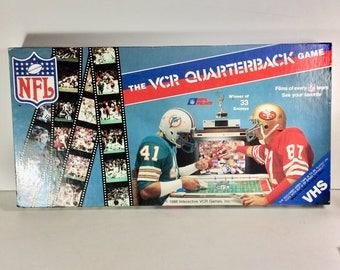 1986 NFL Games VCR Quarterback game near mint.