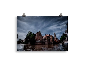 Bruges Photographic Poster