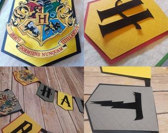 Deluxe Harry Potter Birthday Banner