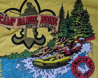 Vintage Camp Daniel Boone Boy Scout Summer Camp Deadstock