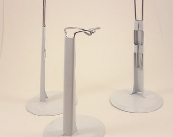 "7"" - 3  Metal Doll Stands"