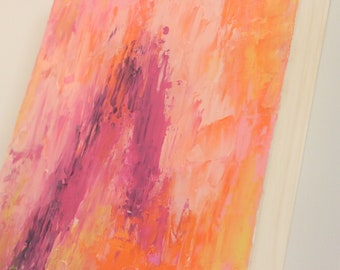 Abstract Crystal Painting