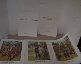 Collection of Prints Put out by US Army