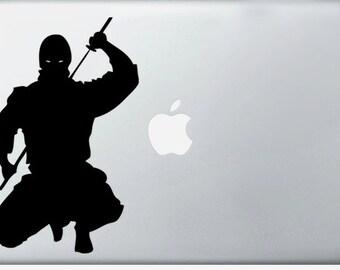 Ninja laptop DECAL- macbook iPad computer- vinyl sticker