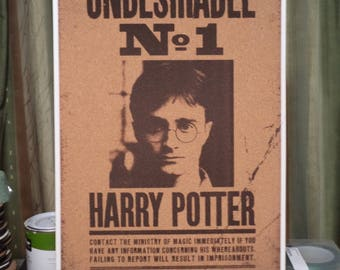 Harry Potter Undesirable No.1 Cork Board