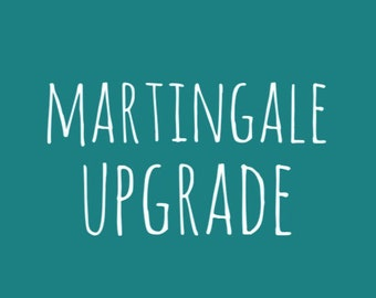 Upgrade To a Martingale Style Collar