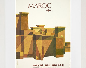 Morocco Art Vintage Travel Poster Print Home Wall Decor (XR260)