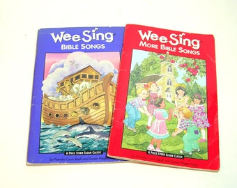 Wee Sing Bible Songs and More Bible Songs, Children's Music Books