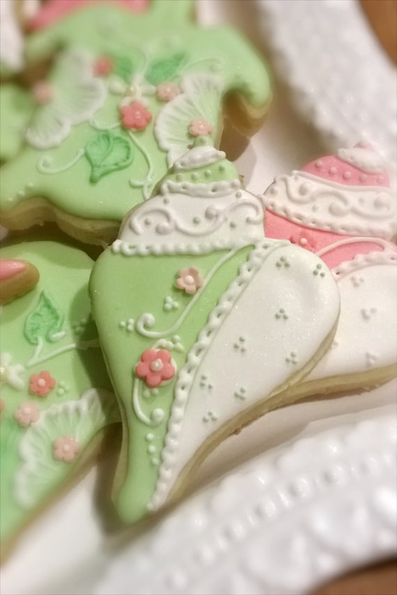 Whimsical Under the Sea Theme Cookie Favors- 2 Dozen, Turtle, Conch, and Seahorse
